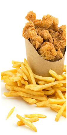 Nuggets (6pcs) & Chips